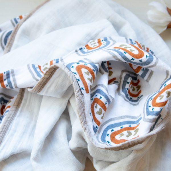 Musselin Swaddle Decke